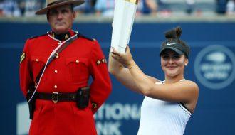 Bảng thành tích đáng sợ của Bianca Andreescu