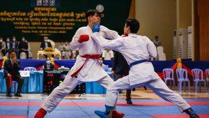 Campuchia sẽ là đối thủ đáng gờm nhất trong Karate