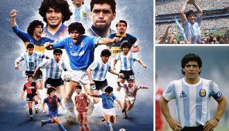 Cậu bé Vàng Maradona huyền thoại ghi bàn thắng thế kỷ đẹp nhất