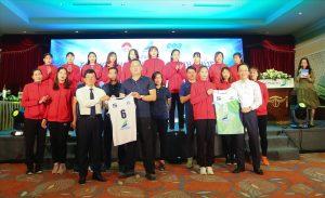 Bóng chuyền nữ Vĩnh Phúc phấn đấu nằm trong top 8 đội mạnh của cả nước.