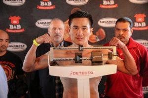 Võ sĩ gốc Việt Đạt Nguyễn đã đánh bại nhà đương kim vô địch danh tiếng Johnny Bedford