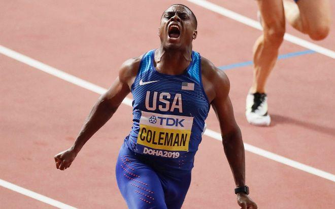 Christian Coleman dính nghi án sử dụng doping
