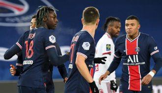 Đội bóng PSG nhận thất bại đầu tiên tại vòng đấu 22 của Ligue 1