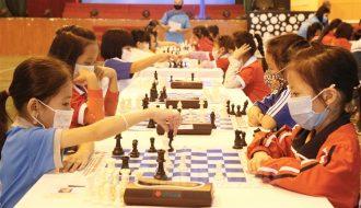 Hải Dương tổ chức giải cờ vua cho tuyển thủ trẻ
