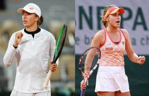 Nhận định trận thi đấu Roland Garros sắp tới của hai vận động viên Iga Swiatek và Sofia Kenin