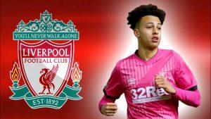 Kaide Gordon ghi tên vào danh sách đội bóng Liverpool