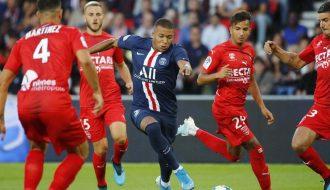 Không bất ngờ PSG chiến thắng trước đối thủ Nimes yếu hơn chuyên môn