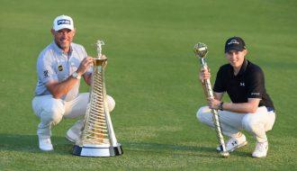 Lee Westwood quên đi nỗi buồn về nhì DP World Tour Championship khi chiến thắng tại Race to Dubai