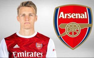 Martin Odegaard là cầu thủ Arsenal