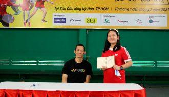 Nguyễn Tiến Minh xứng danh người truyền cảm hứng cho các tay vợt nhí