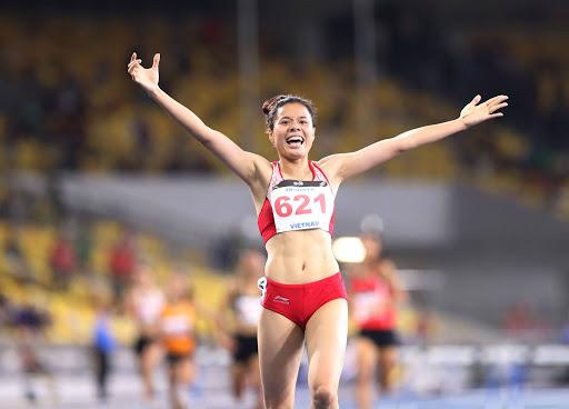 Tại SEA Games 31, Nguyễn Thị Huyền là cái tên sáng giá ở bộ môn điền kinh