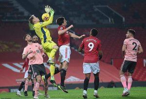 Trận bóng giữa MU và Sheffield